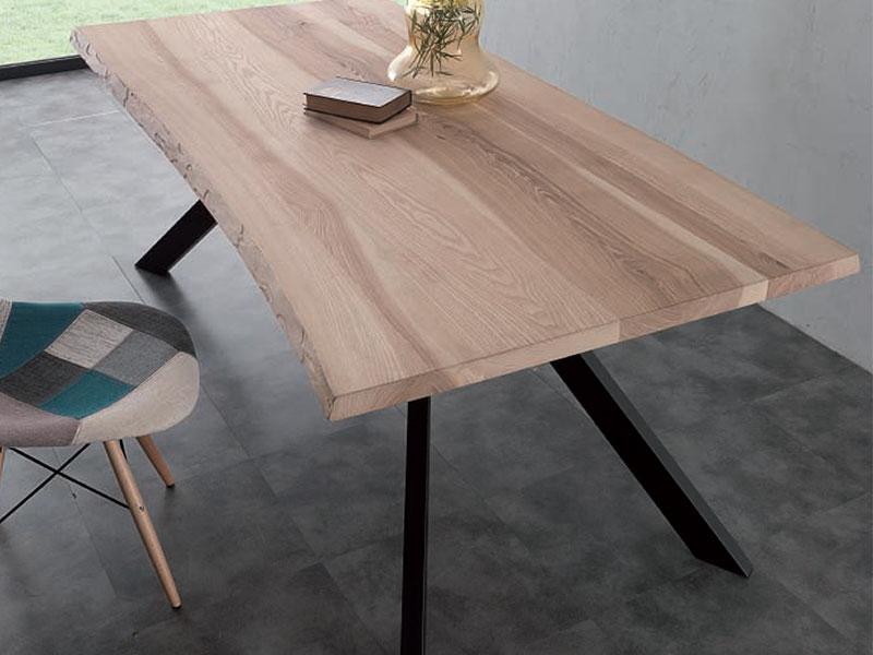 tavolo design in legno massello, sedia design - Tavolo In Legno Massiccio Prezzi