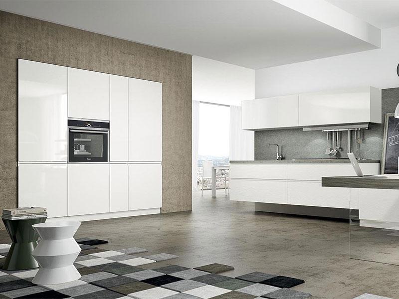 Cucina bianca moderna | Arredamento Mobili | Arredamento Mobili ...