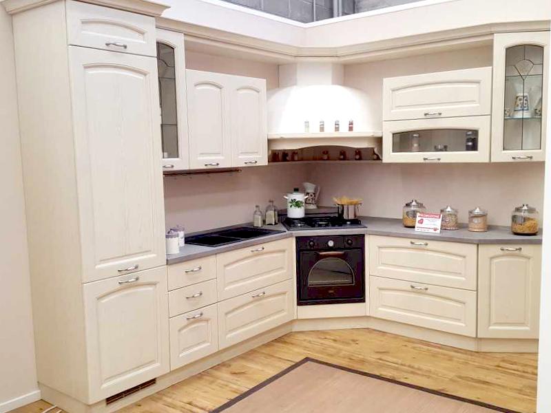 Cucina classica angolare 01 | Arredamento Mobili ArredissimA