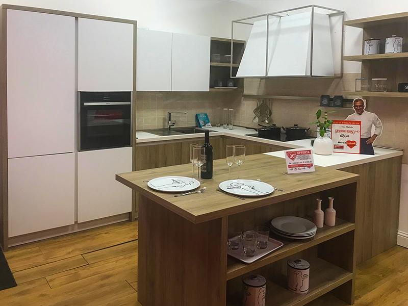 Cucina doppio angolo arredamento mobili arredissima - Cucina doppio angolo ...