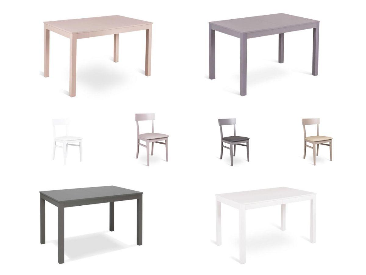 Tavolo e 4 sedie Faggio | Arredissima
