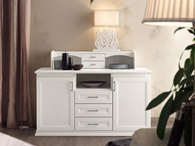 soggiorno classico bianco vintage | Arredamento Mobili ArredissimA