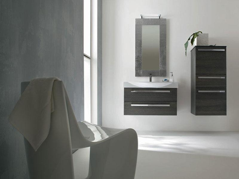 Bagno verde e grigio latest good piastrelle bagno con scritte con piastrelle ceramica cucina - Arredo bagno grigio ...