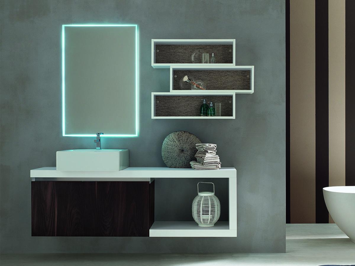 Bagno design bianco mobili bagno arredamento mobili - Mobili di castello bagno ...