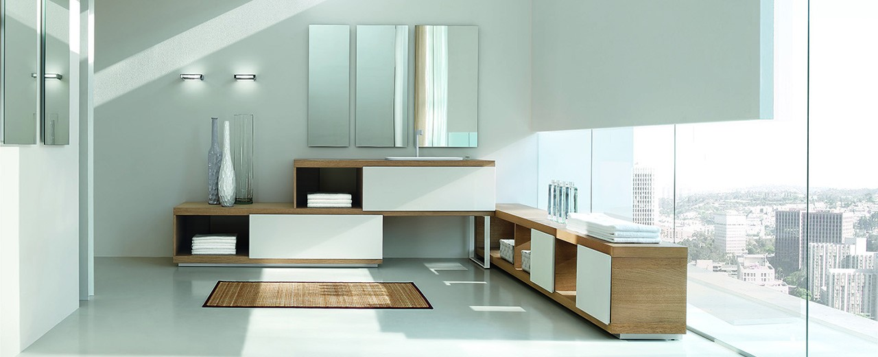 Arredo bagno classico e moderno arredamento mobili for Mobili arredo bagno moderni on line