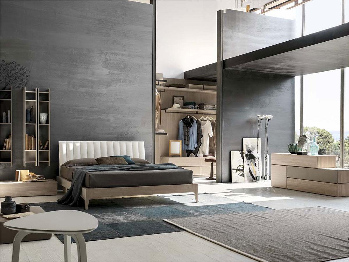 Camera con cabina armadio arredamento mobili arredissima - Camere da letto moderne milano ...