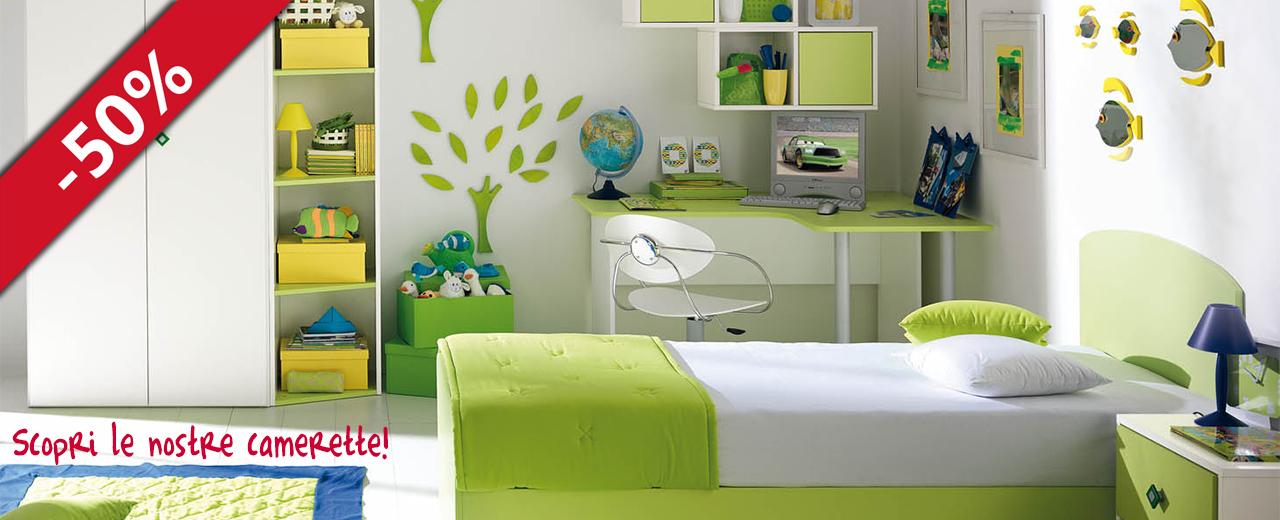 Best offerte camerette bambini gallery acrylicgiftware for Offerte camerette