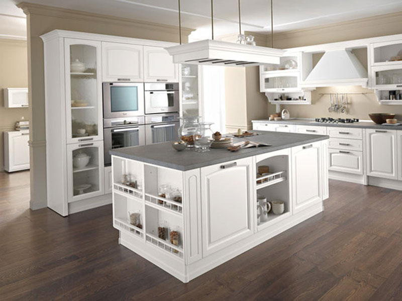 Cucine moderne bianche laccate cucine moderne nere lucide - Foto cucine bianche ...