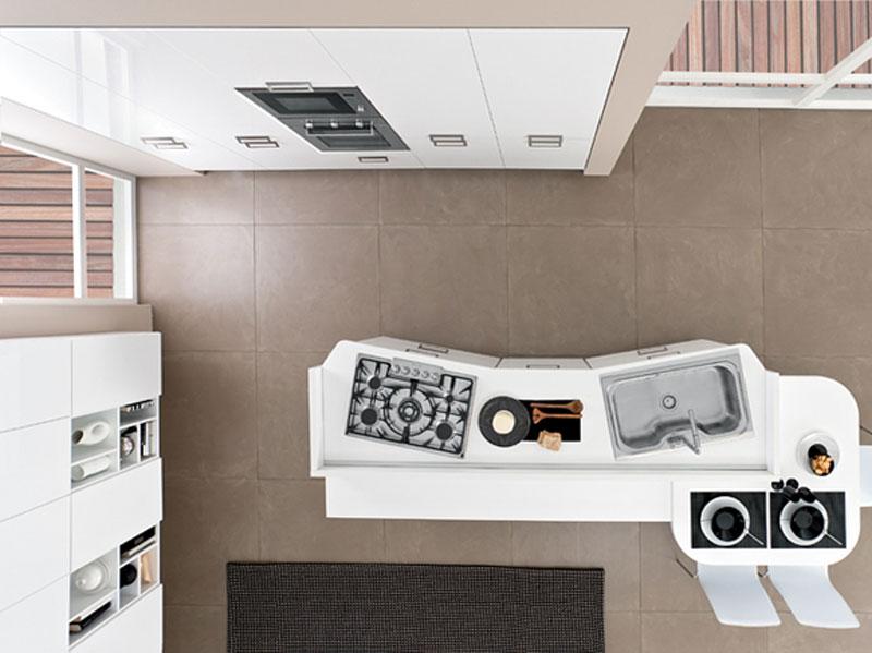 Cucina Moderna Con Acquario Incorporato Interior Design : Cucina con ...