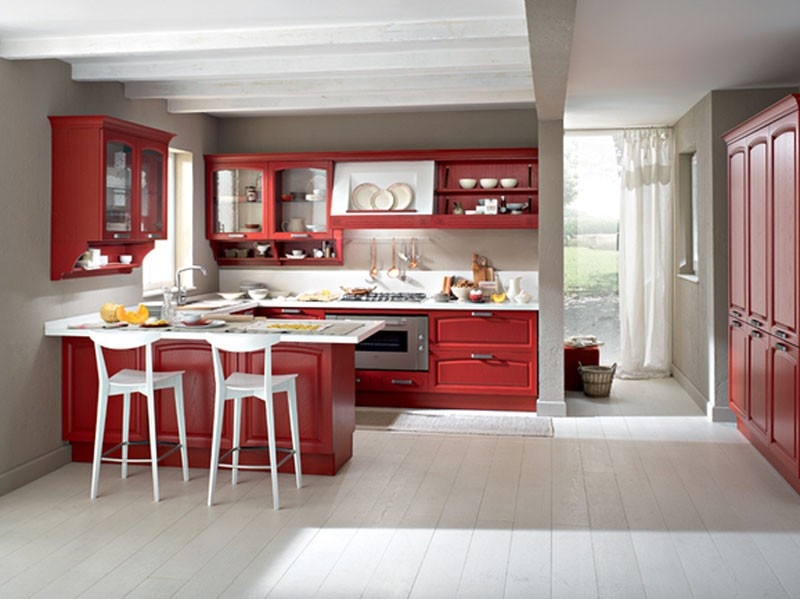 Cucine Moderne Bianche E Rosse: Pasionwe for.