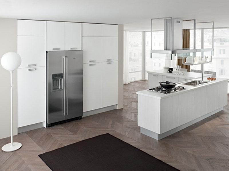 Cucina moderna con isola arredamento mobili arredissima for Isola cucina moderna