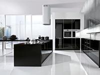 Cucina nera lucida   Arredamento Mobili ArredissimA