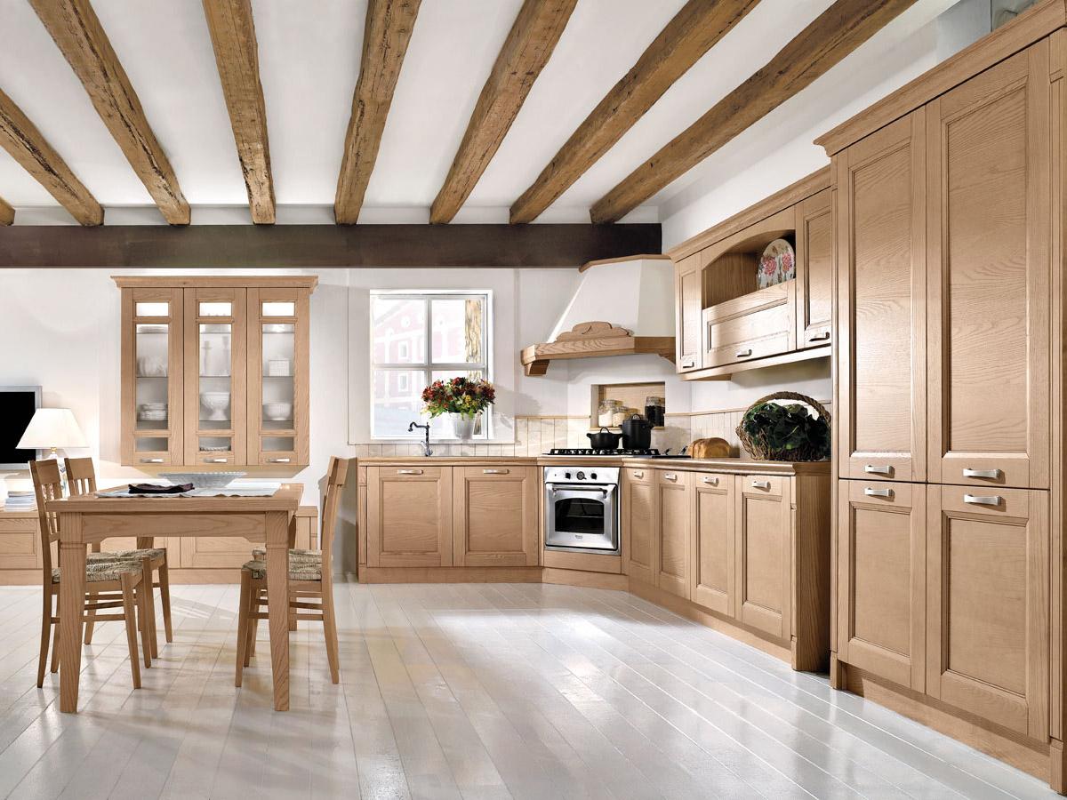 Cucina angolare classica | Arredamento Mobili