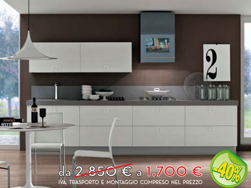 Offerte Cucine Roma. Finest Cucine Moderne Scure Canlic For ...
