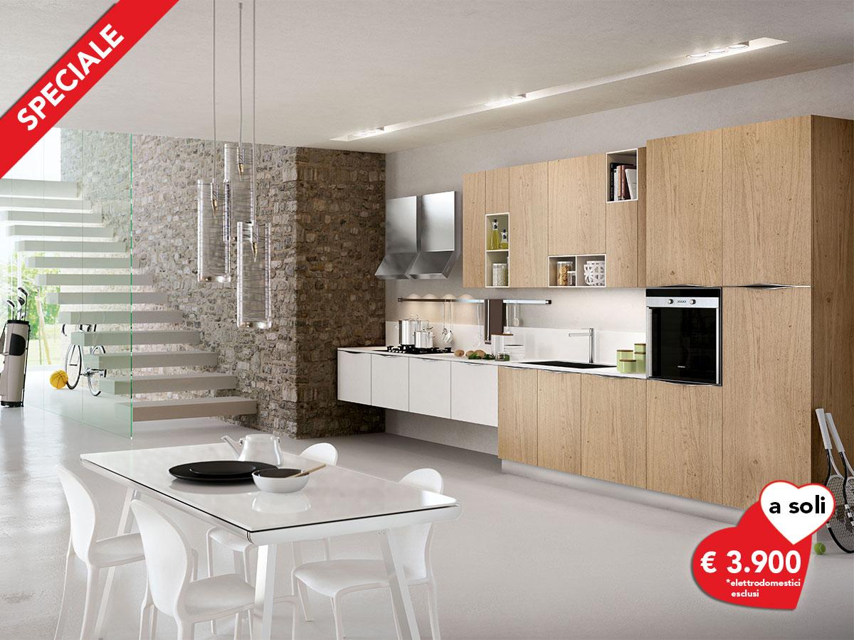Offerta cucina lineare for Cucina lineare offerta