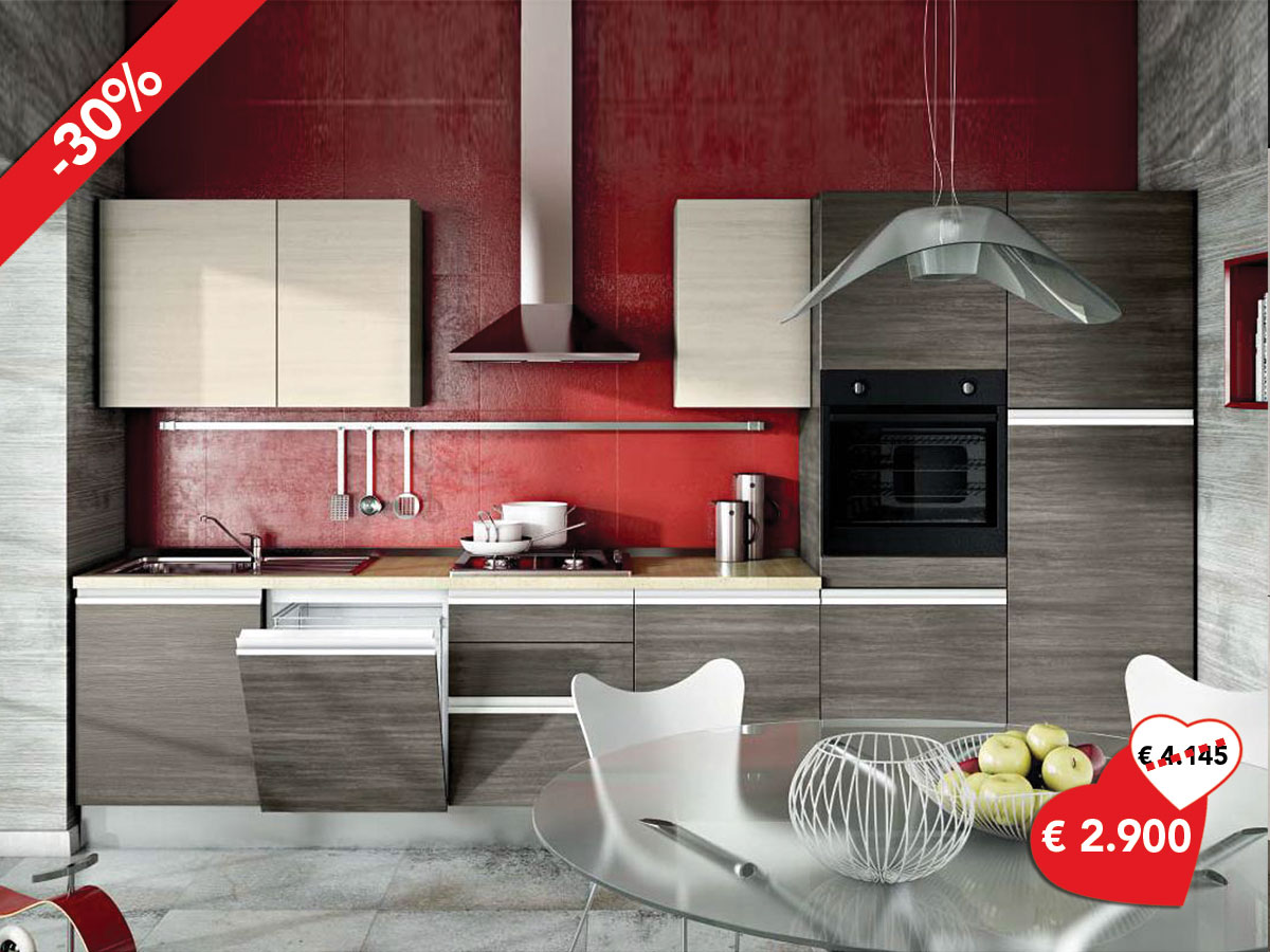 Cucina lineare in offerta for Cucina lineare offerta