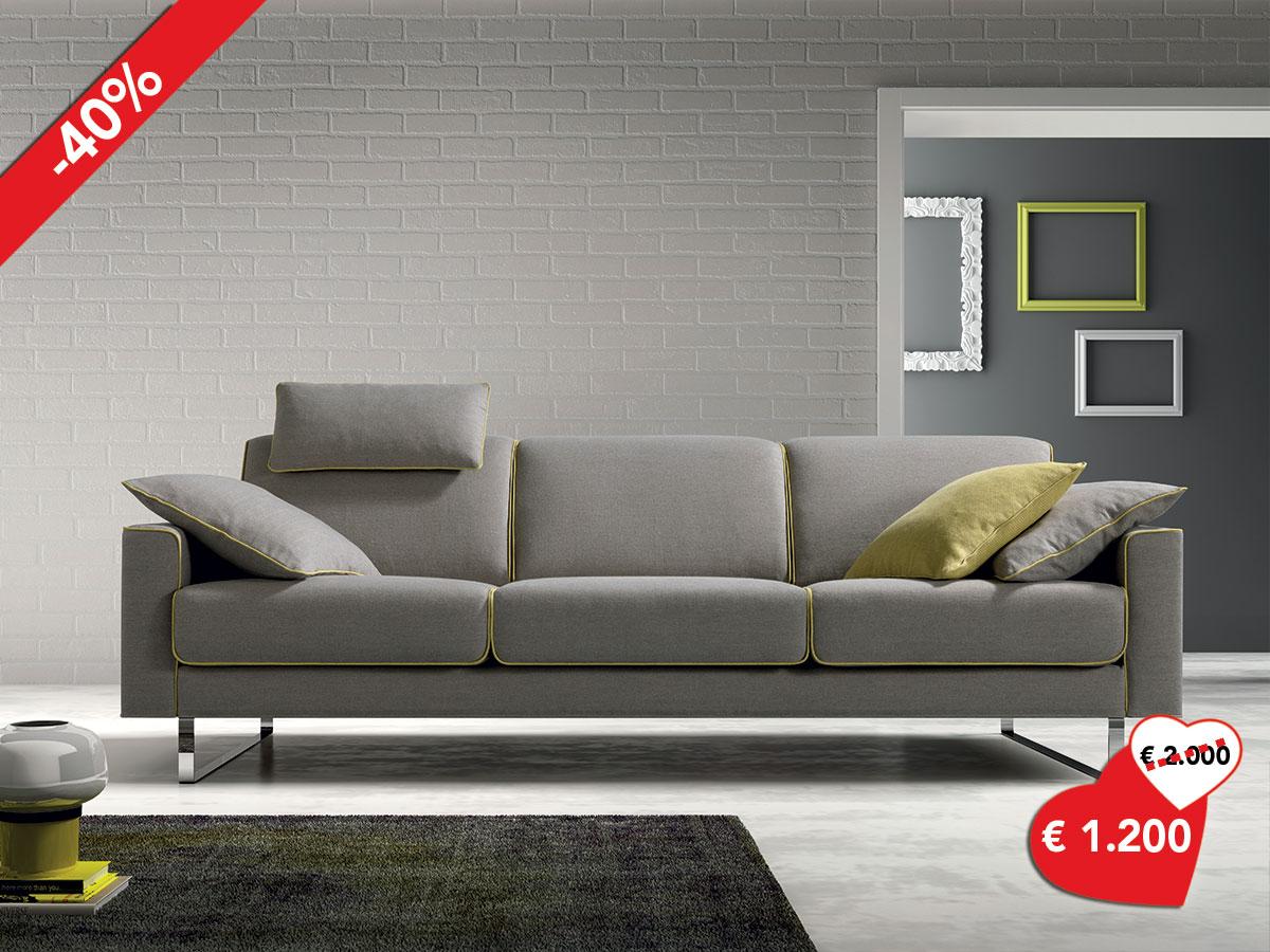Divano design moderno arredamento mobili arredissima - Divano design offerta ...