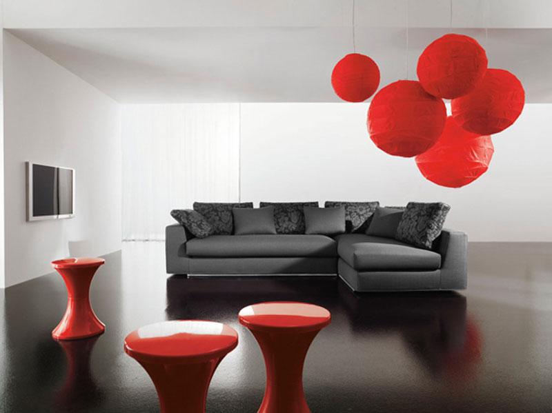 Divano angolare usato idee per il design della casa for Retro divani moderni