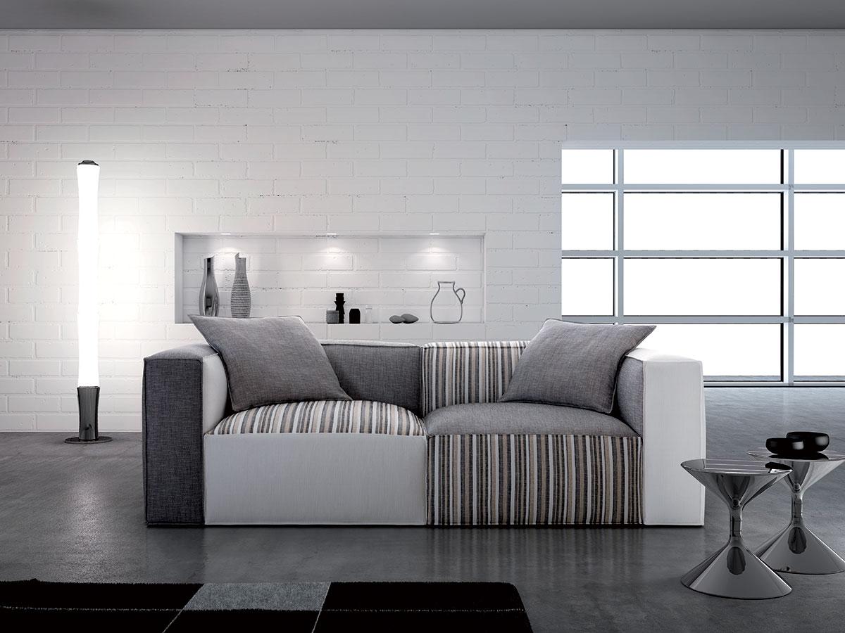 Divano componibile moderno arredamento salotto for Mobili colorati moderni
