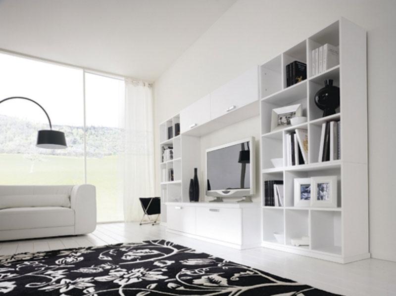 Beautiful Soggiorni Moderni Bianchi Images - House Design Ideas 2018 ...
