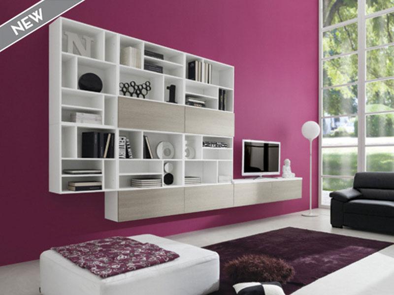 soggiorni pareti colorate idee per il design della casa