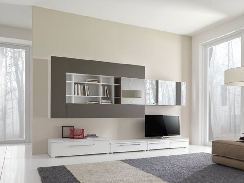 Parete soggiorno sospesa idee per il design della casa for Parete attrezzata moderna sospesa