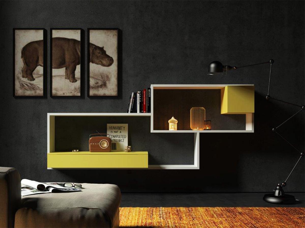 Soggiorno design minimale arredamento mobili for Arredamenti monterotondo
