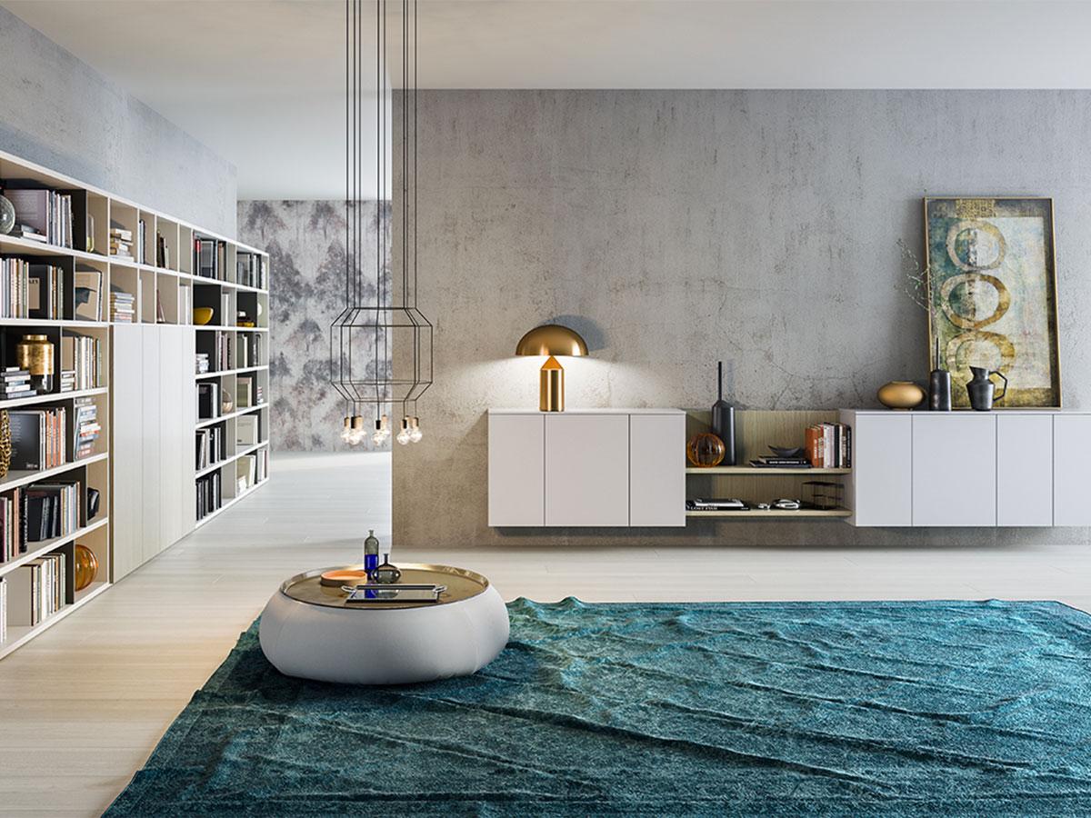 Soggiorno completo moderno arredamento mobili arredissima for Arredamento casa gratis