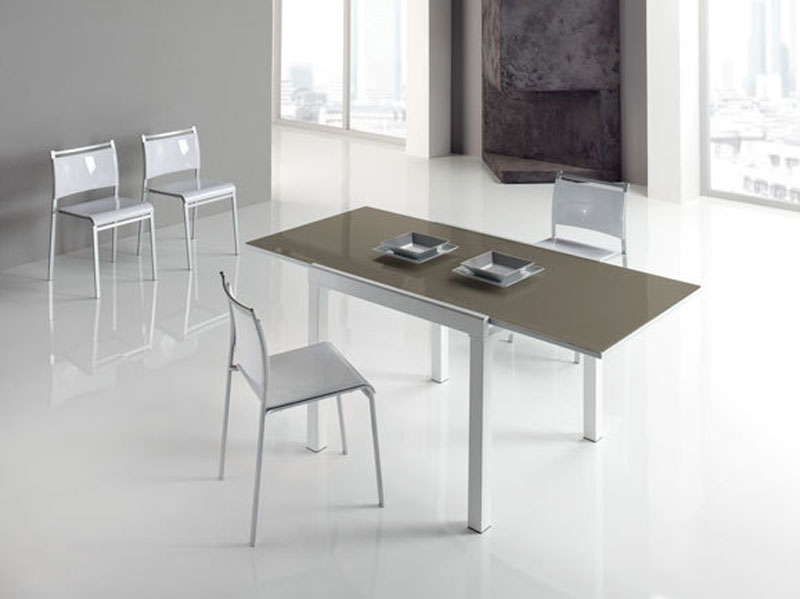 Tavolo soggiorno cristallo tavolo da pranzo in vetro for Tavoli moderni vetro design