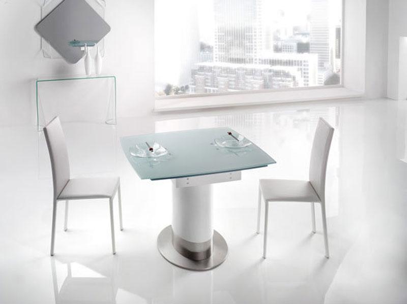 Tavolo moderno in vetro temperato | Arredo Soggiorno | Arredamento ...