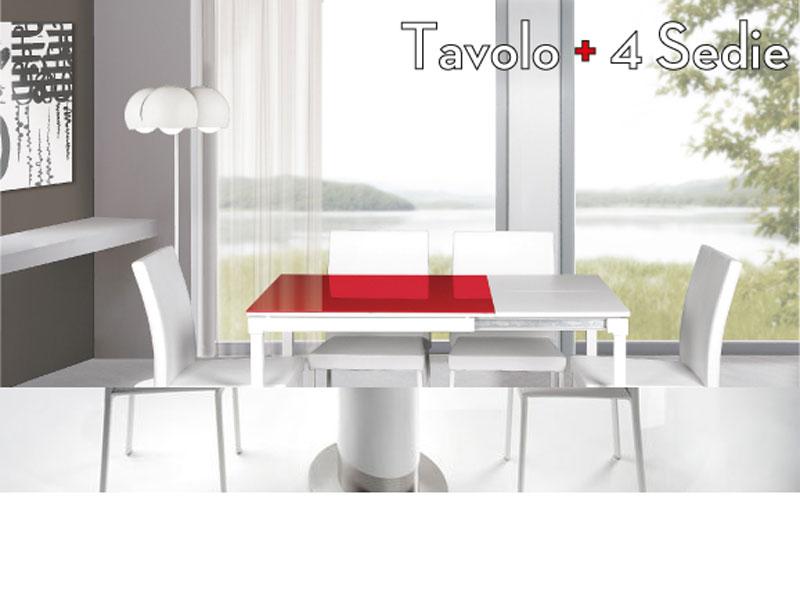 Offerta tavolo sedie soggiorno arredamento mobili arredissima - Offerte tavoli e sedie ...