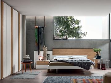 Arredamento camere da letto camera da letto moderna - Camera matrimoniale bianca ...