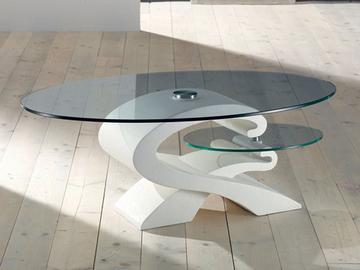 Tavolo da salotto bianco
