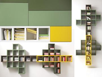 Soggiorni arredo soggiorni moderni saloni moderni for Parete colorate moderne
